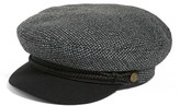 Brixton Women's 'Fiddler' Newsboy Cap - Black