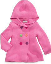 First Impressions Baby Hoodie, Baby Girls Hooded Sweater