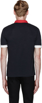 Band Of Outsiders Black Inside-Out This Is Not A Polo Shirt