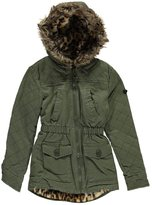 "Urban Republic Big Girls' ""Furry Twill"" Jacket"