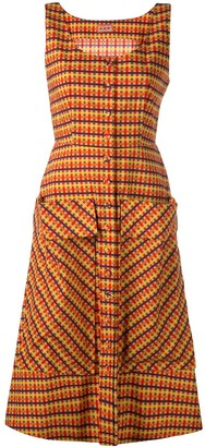 Lhd Check Print Dress