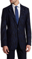 Robert Graham Albert Bridge Two Button Notch Lapel Classic Fit Wool Jacket