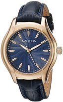 Nautica Women's NAD12002M NCT 18 MID Analog Display Quartz Blue Watch