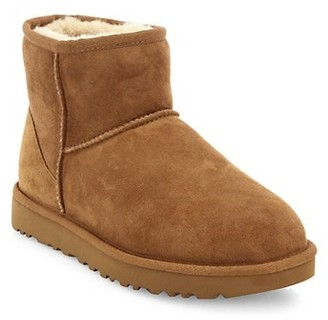 UGG Classic Heritage Mini II Sheepskin-Lined Suede Boots