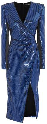 David Koma Sequined midi dress
