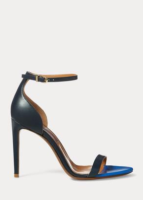 Ralph Lauren Sonika Nappa Leather Sandal