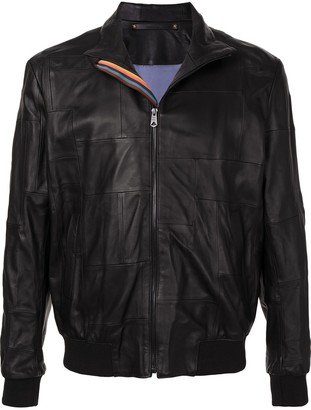 Paul Smith High-Neck Zip-Front Jacket