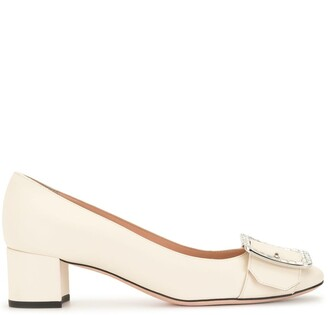 Bally Embellished Buckle Pumps