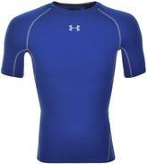 Under Armour HeatGear Armour T Shirt Blue