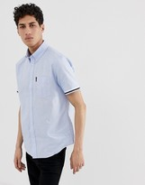 Ben Sherman short sleeved shirt with ribbed cuff