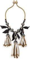 Lanvin Pearly-Tassel Necklace