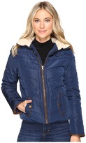 Brigitte Bailey Solo Jacket w/ Sherpa Lined Collar