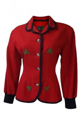 Jean Paul Gaultier Red Wool Jackets