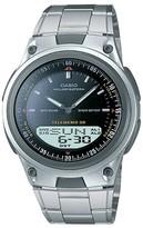 Casio Men's Analog and Digital Bracelet Watch - Black (AW80D-1AV)