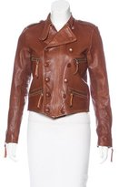 Faith Connexion Leather Double-Breasted Jacket w/ Tags