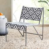 west elm Peg Woodworking Two-Tone Lounge Chair