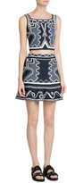 Peter Pilotto Embroidered Stretch Skirt