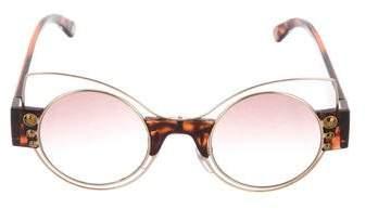 Marc Jacobs Gradient Tortoiseshell Sunglasses