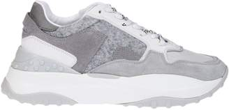 Tod's Tods Gray And White Sneakers