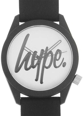Hype Silicone Strap Watch