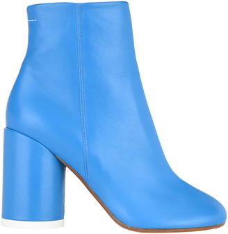 MM6 MAISON MARGIELA Mm6 6-heel Leather Ankle Boots