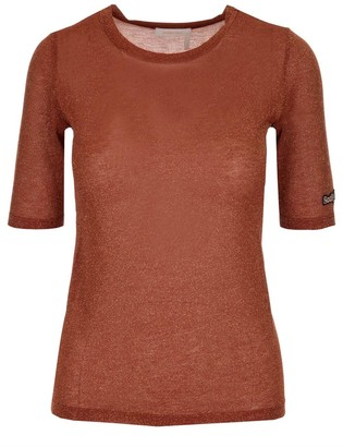 See by Chloe Logo Patch Blouse