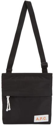 A.P.C. Black Protection Messenger Bag