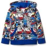 babyGap | DC comic book zip hoodie