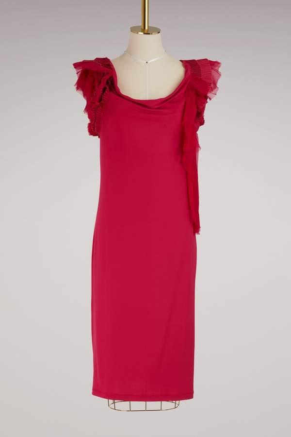 Givenchy Sleeveless jersey dress