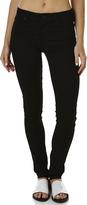 Lee Bumster Skinny Womens Standard Rise Waist Jeans Noir
