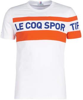 Le Coq Sportif ESS SAISON Tee SS N3 M men's T shirt in White