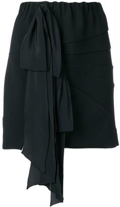 No.21 Ribbon Panelled Mini Skirt