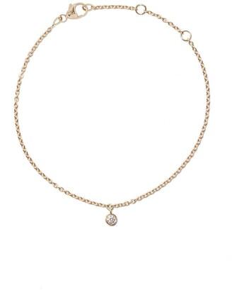 De Beers 18kt yellow gold My First one diamond bracelet