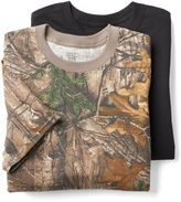 Hanes Men's Ultimate 3-pack Realtree Camo Crew Tees