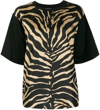 Moncler zebra-print T-shirt