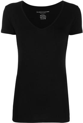 Majestic Filatures v-neck sleeveless T-shirt