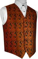 Brand Q Men's Tuxedo Vest- Paisley-L