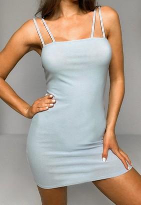 Missguided Double Strap Cami Mini Dress