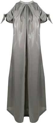 Loulou Cut-Out Maxi Dress