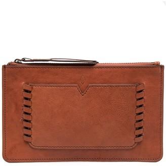 BA&SH Teddy clutch purse