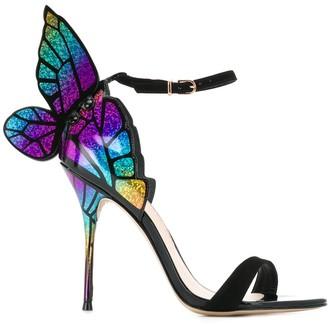 Sophia Webster Butterfly Heeled Sandals