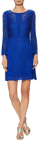 Laundry by Shelli Segal Bell Sleeve Stretch Lace Dress