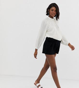 Asos DESIGN Maternity under the bump culotte shorts