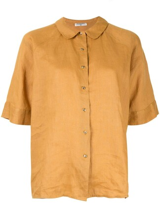 Chanel Pre-Owned Peter Pan collar shirt