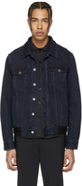 Givenchy Blue Denim Back Tape Jacket