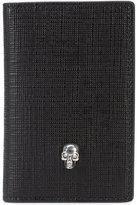 Alexander McQueen skull flap wallet