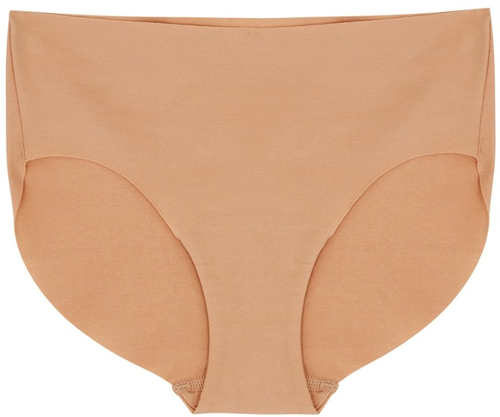 Thumbnail for your product : Hanro Invisible Sand Stretch-cotton Briefs