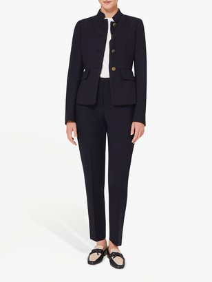 Hobbs Angelica Military Jacket, Navy