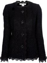 Oscar de la Renta tweed lace jacket