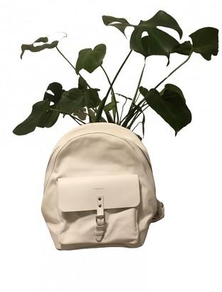 SANDQVIST White Cotton Backpacks